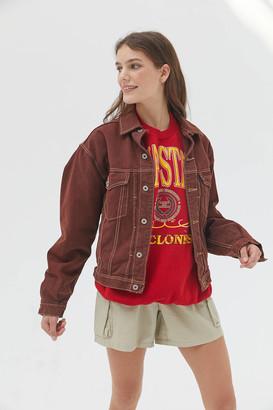 Urban Renewal Vintage Overdyed Denim Jacket