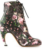 Givenchy floral print boot
