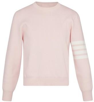 Thom Browne 4-Bar cotton sweatshirt