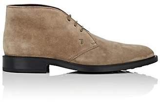 Tod's Men's Suede Chukka Boots - Beige, Tan