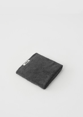 Tekla Terry Hand Towel Charcoal Grey