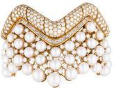 Chanel Collerette Pearl & Diamond Bracelet