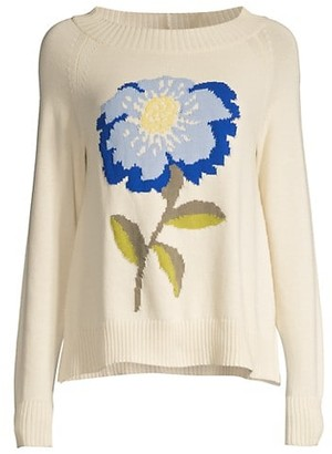 Max Mara Domizia Flower Sweater