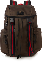 Gucci Techno-canvas backpack
