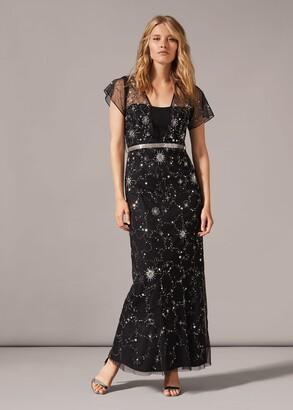 Phase Eight Anabella Beaded Maxi Dress