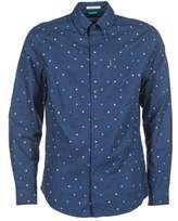 Ben Sherman LS SCATTERED RECORD MARINE