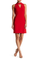 Taylor Mock Neck Sleeveless Dress