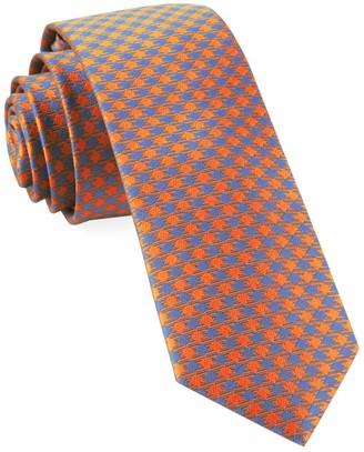 The Tie BarThe Tie Bar Tangerine Commix Checks Tie