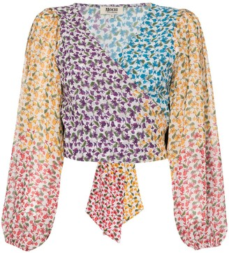 All Things Mochi Alma floral print blouse