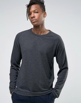 Selected Long Sleeve Top With Raglan Sleeve
