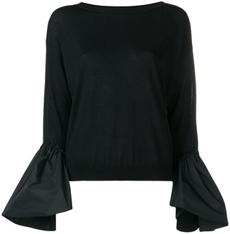 Moncler parachute sleeve sweater