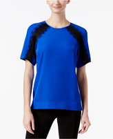 Calvin Klein Lace-Inset Top