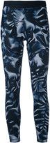 Nike printed classic fit leggings - women - Polyester/Spandex/Elastane - L