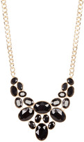 Natasha Accessories Stud Frontal Necklace