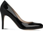 LK Bennett Women's Bla-Black Stila Patent-Leather Courts, Size: EUR 38 / 5 UK