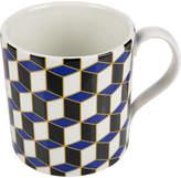 Jonathan Adler Carnaby Mug - Versaille - Blue