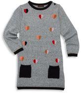 Catimini Toddler's, Little Girl's & Girl's Long Sleeve Embroidered Dress