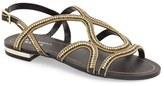 Menbur Women's 'Acedera' Embellished Flat Sandal