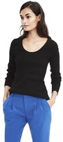 Banana Republic Ribbed Scoop Neck Sweater