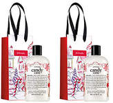 philosophy Candy Cane Shower Gel Duo With Giftbags