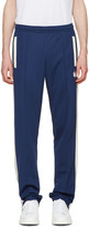 Palm Angels Navy Weed Track Pants