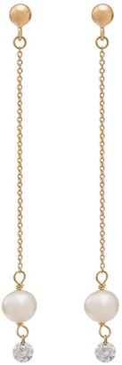 PERSÉE 18kt Yellow Gold Chain Drop Earrings