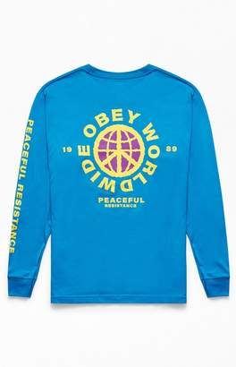 Obey Peaceful Resistance Long Sleeve T-Shirt
