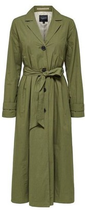 Selected Organic Cotton Trench Coat - 38