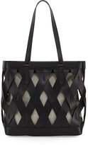 KENDALL + KYLIE Dina Caged Tote Bag, Black