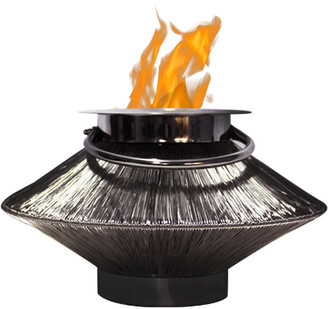 Anywhere Fireplaces Saturn 2 In 1 Lantern/Fireplace