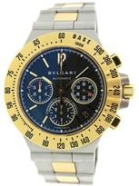 Bulgari CH40SGDTA Diagono 18K Gold & Steel Professionial Chronograph Watch