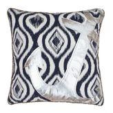 Thro Ali Anchor Appliqué Pillow