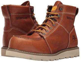Caterpillar Tradesman Steel Toe (Brown) Men's Work Boots