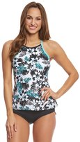 Beach House Sport Women's Standout Tropical Circuit Tankini Top 8153154