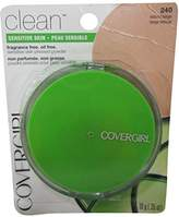 Cover Girl Clean Sensitive Skin Pressed Powder Natural Beige (N) 240, 0.35 Ounce Pan by