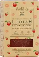 Earth Therapeutics Soap-Loofah Exfoliating, Peach & Passion 4 oz Bar Soap