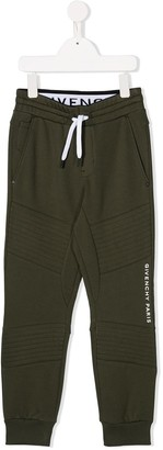 Givenchy Kids Logo Drawstring Trousers