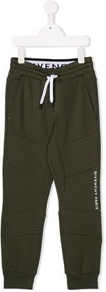 Givenchy Kids Logo Drawstring Trousers