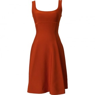 Herve L Leroux Orange Dress for Women