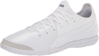 Puma Unisex King Pro It Soccer Shoe White White White Numeric_12_Point_5 US Men