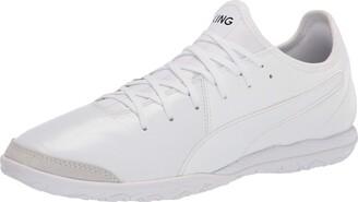 Puma Unisex King Pro It Soccer Shoe White White White Numeric_4_Point_5 US Men