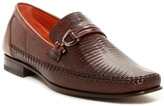 Mezlan Genuine Lizard Bit Loafer