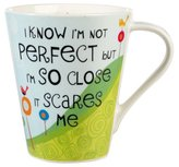 Life is Good The Good Life Perfect Flight Mug, Multi-Colour