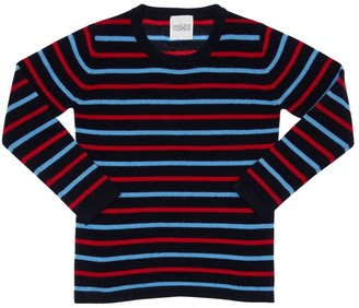 Madeleine Thompson Striped Cashmere Knit Sweater