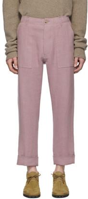 Nanushka Pink Gaius Trousers
