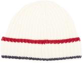 MAISON KITSUNÉ Multicolor Ribbed Hat