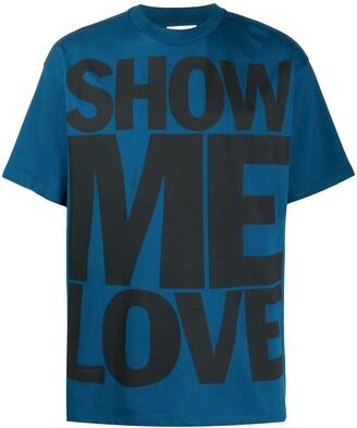 Honey Fucking Dijon show me love print T-shirt