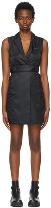Alyx Black Tailoring Belted Dress