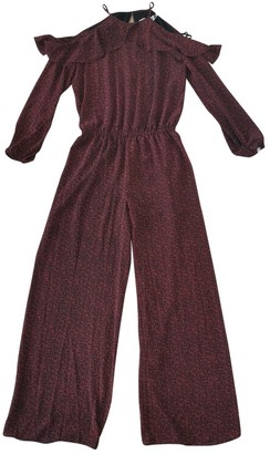Michael Kors Black Polyester Jumpsuits
