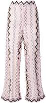 Missoni wide leg printed trousers